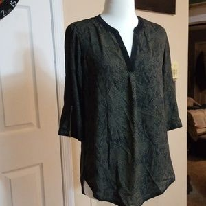 Blouse is stunning plus comfortable